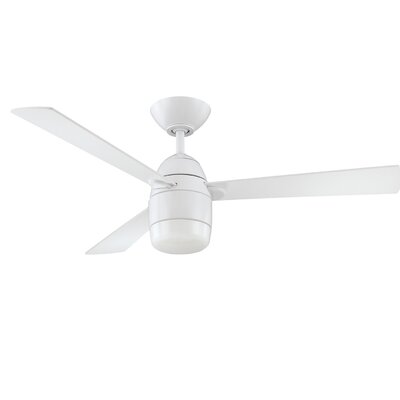 42 Mccune Ceiling Fan with Remote Finish: White