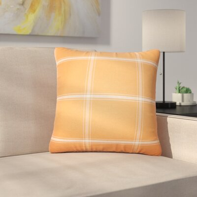 Stirling Rambert Plaid Cotton Throw Pillow Color: Sundance