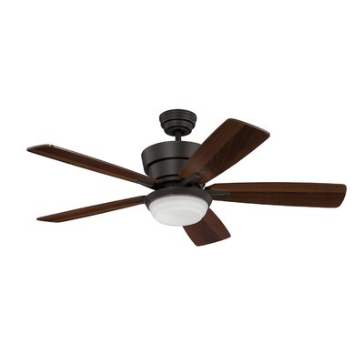 44 Cauthen Ceiling Fan with Remote Finish: Barcelona Bronze