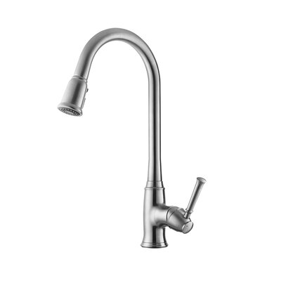 Bayberry Single Pull-Down Handle Kitchen Faucet