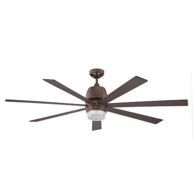 60 Dominick 7 Blade Ceiling Fan Finish: Bronze