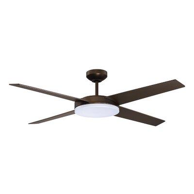 52 Don LED Ceiling Fan Finish: Bronze