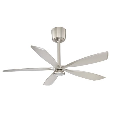 54 Donald LED Ceiling Fan Finish: Satin Nickel