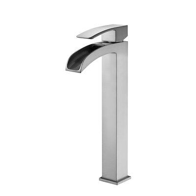 Belair Single Handle Single Hole Bathroom Faucet Finish: Brushed Nickel
