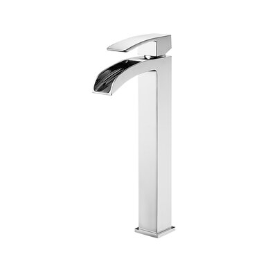 Belair Single Handle Single Hole Bathroom Faucet Finish: Chrome