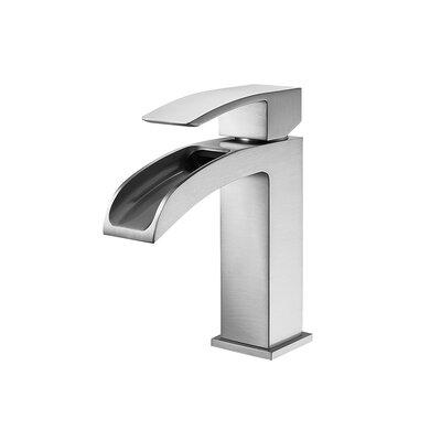 Liberty Single Handle Single Hole Bathroom Faucet Finish: Brushed Nickel
