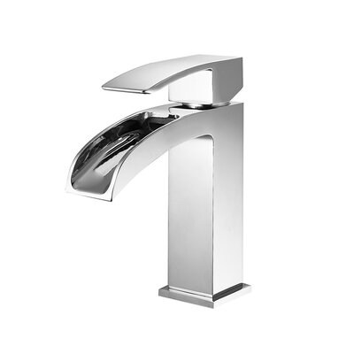Liberty Single Handle Single Hole Bathroom Faucet Finish: Chrome