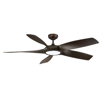 54 Donaway LED Ceiling Fan Finish: Architectural Bronze