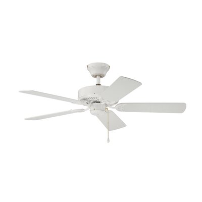 42 Petrey Ceiling Fan with Remote Finish: Anique Brass
