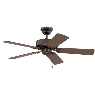 42 Petrey Ceiling Fan with Remote Finish: Satin Nickel