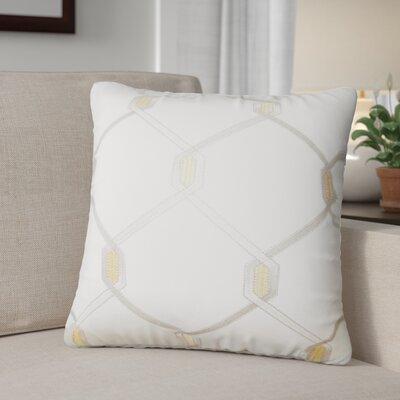 Kemo Geometric Throw Pillow Color: Amber