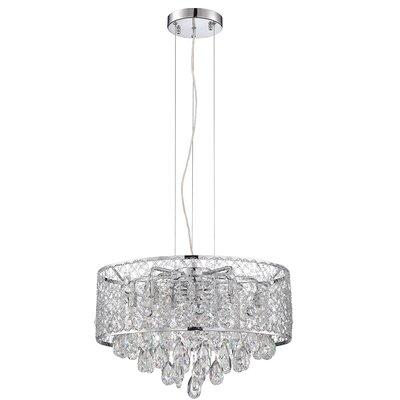 Hoban 10-Light LED Crystal Pendant