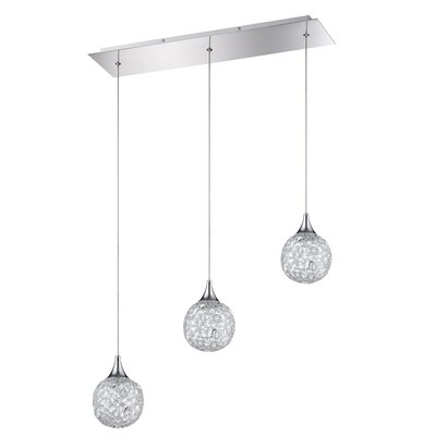 Hoban 3-Light Kitchen Island Pendant
