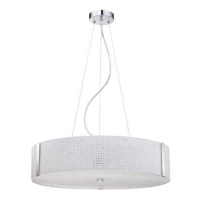 Hipple 5-Light Drum Pendant
