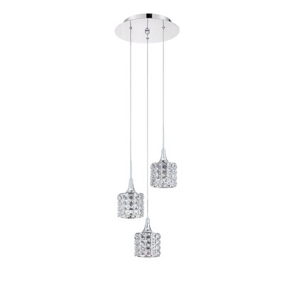 Lindsey 3-Light Cluster Pendant