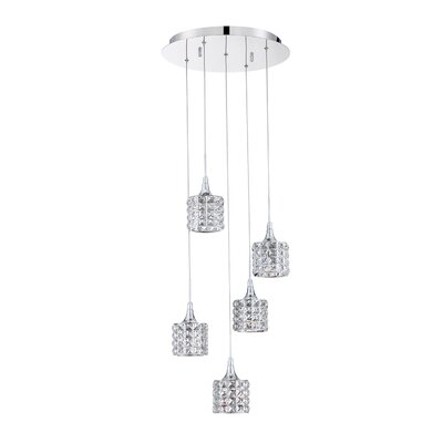Lindsey 5-Light Cluster Pendant