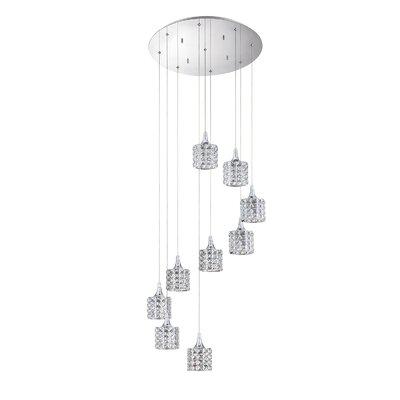 Lindsey 9-Light Cluster Pendant