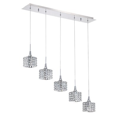Hopkins 5-Light Kitchen Island Pendant
