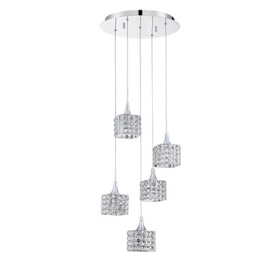 Hopkins 5-Light Cluster Pendant