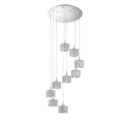 Hopkins 9-Light Cluster Pendant
