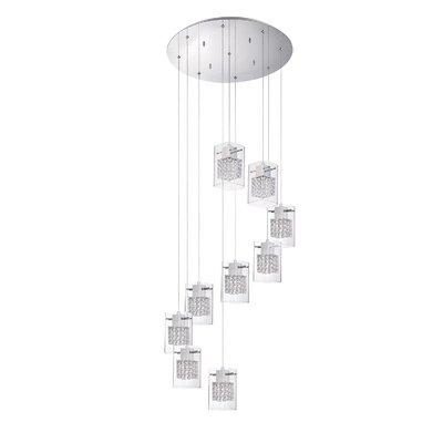 Hoekstra 9-Light Cluster Pendant