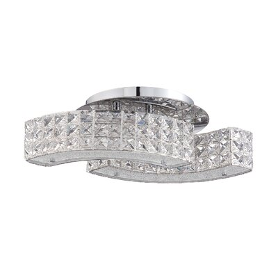Dickerson 4-Light LED Flush Mount