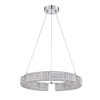 Dickerson 9-Light Crystal Pendant