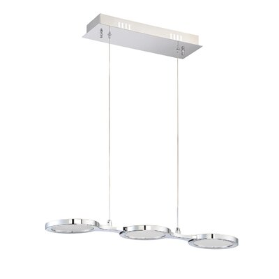 Hinkel 3-Light Kitchen Island Pendant