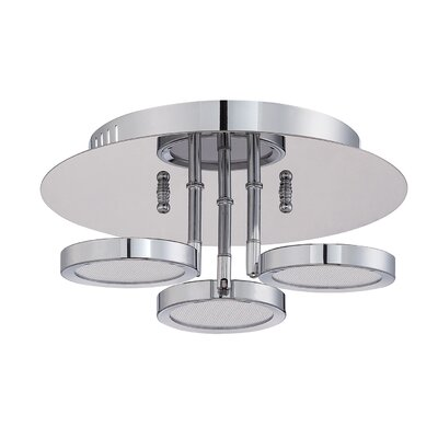 Hinkel 3-Light LED Flush Mount