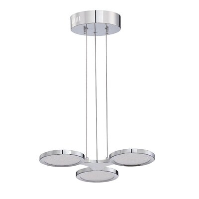 Hinkel 3-Light Cluster Pendant