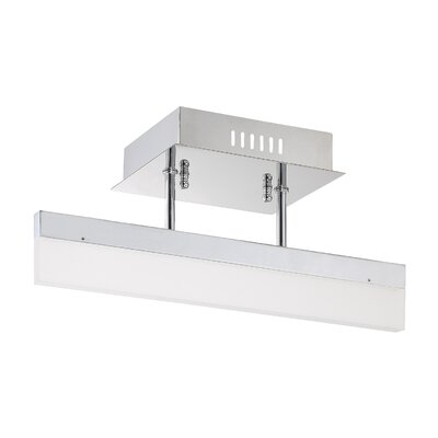Hinnenkamp 1-Light LED Semi Flush Mount