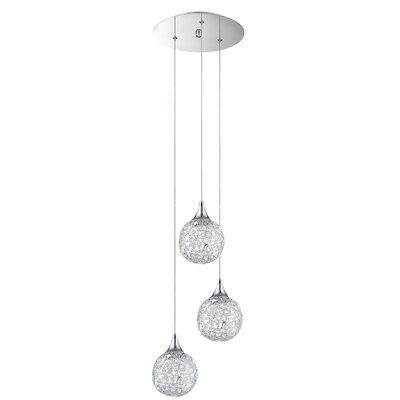 Hoban 3-Light Cluster Pendant