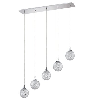 Hoban 5-Light Kitchen Island Pendant