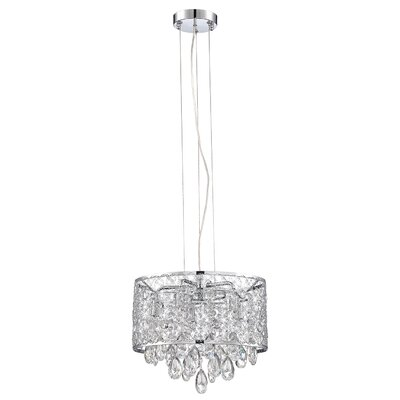 Hoban 5-Light LED Drum Pendant
