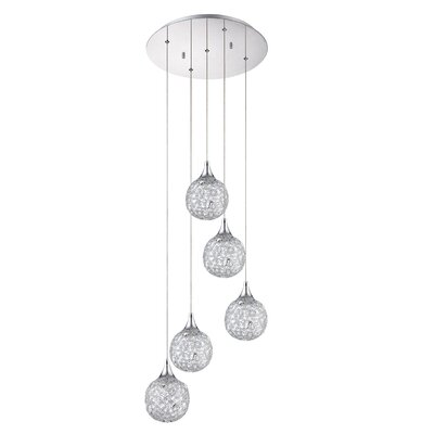 Hoban 5-Light Cluster Pendant