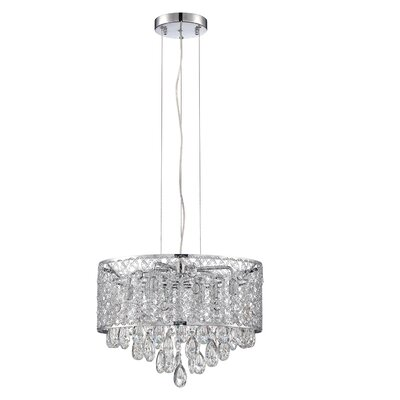 Hampshire 8-Light LED Crystal Pendant