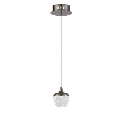Schneider 1-Light Mini Pendant Finish: Chrome