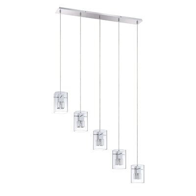 Hodgkins 5-Light Kitchen Island Pendant