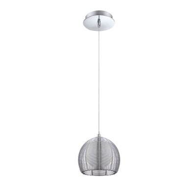 Hodnett Cage 1-Light Mini Pendant Size: 10 H x 7.5 W x 7.5 D