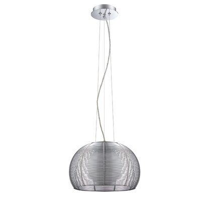 Hodnett Cage 1-Light Mini Pendant Size: 10 H x 9.8 W x 9.8 D