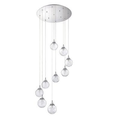 Hochstetler 9-Light Cluster Pendant