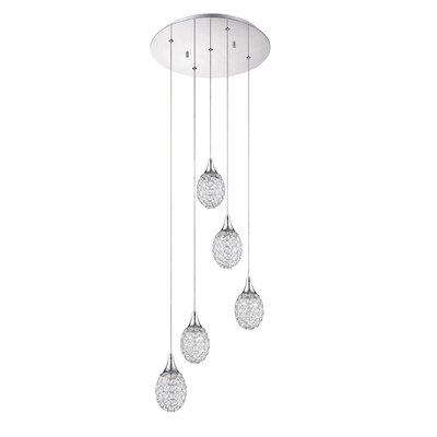 Jolin 5-Light Cluster Pendant