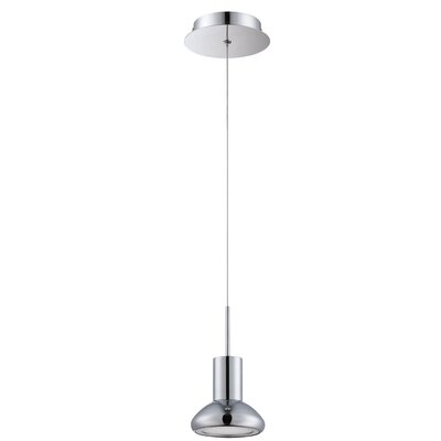 Hiles 1-Light Mini Pendant Finish: Chrome