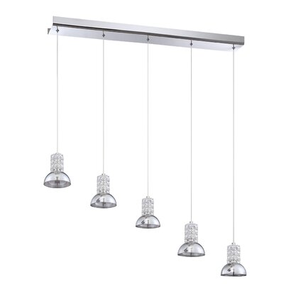 Hirano 5-Light Kitchen Island Pendant