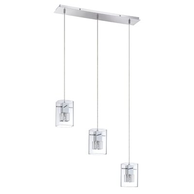 Hodgkins 3-Light Kitchen Island Pendant