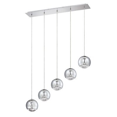 Hoeft 5-Light Kitchen Island Pendant