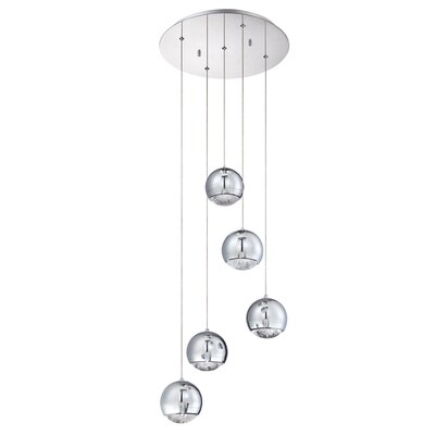 Hoeft 5-Light Cluster Pendant