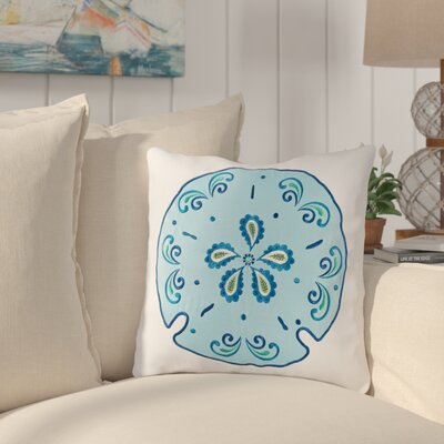 Danise Sand Dollar Cotton Throw Pillow
