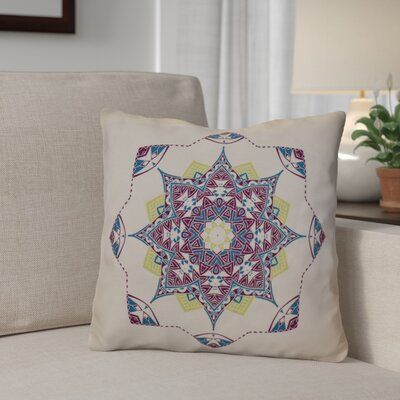 Aneesh Throw Pillow Size: 18 H x 18 W, Color: Purple