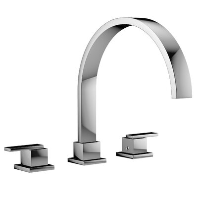 Mincio Widespread Double Handle Bathroom Faucet Finish: Polished Chrome